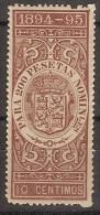 Fiscales Deuda Del Estado 16 ** 1894-95. - Fiscales