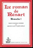 LE ROMAN DE RENARD. - Historic