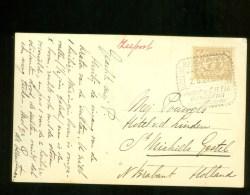 NEDERLANDS-INDIE * ANSICHTKAART * CPA * GELOPEN Van DJOKJAKARTA JAARBEURS BANDOENG 1927 Naar St. MICHELS GESTEL  (3758q) - Indonesien