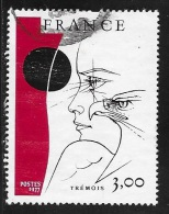 N°  1950  FRANCE  -  OBLITERE  -   OEUVRE ORIGINALE DE TREMOIS  -  1977 - France