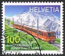 Switzerland 2012 Jungfraubahn 100c Good/fine Used - Gebraucht