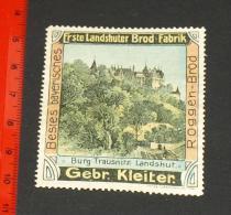 Werbemarke Cinderella Poster Stamp   Landshuter Brod Fabrik Landshut     #1710 - Publicités