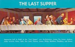The Last Supper Christus Gardens Gatlinburg Tennessee - Jesus
