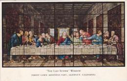 The Last Supper Forest Lawn Memorial Park Glendale California - Jesus