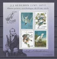 FRANCE. YT Bloc 18 Hommage Au Peintre Ornithologue J.J. Audubon 1995 Neuf** - Blocs & Feuillets