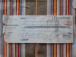 Rare 55 BRIZEAUX Aubry Richier Commerce De Bois  De 51 PASSAVANT BISTER DEFRANCE   1909 - 1900 – 1949