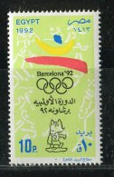 Egypte ** N° 1465 - J.O. A Barcelone - Unused Stamps