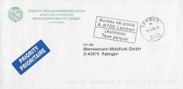 Austria 1999 Leoben Unfranked Postage Paid Cover - 1945-.... 2de Republiek