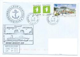 14764 - TAAF - PATROUILLEUR AUSTRAL OSIRIS -  MISSION ISIS (MARTIN DE VIVIES  AOÜT 2015 - Terres Australes Et Antarctiques Françaises (TAAF)