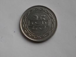 Bahrein  25 Fils 1992  AH 1412   Km# 18  Nickel - Bahreïn
