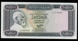 LIBIA (LIBYA) : Banconota 10 Dinari - P37a – AUNC (see Scan) - Libia