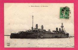 Marine Militaire, Bateau  La MARSEILLAISE, (F. T. Brest) - Matériel