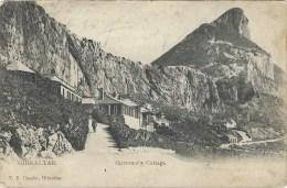 Gibraltar 1907 Governor's Cottage By V.B. Cumbo Viewcard - Gibraltar