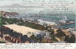 Gibraltar 1906 Alameda Grand Parade By Ferrary & Co. Viewcard - Gibraltar
