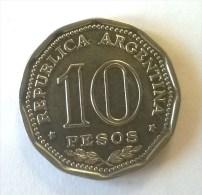 ARGENTINE -  10 Pesos 1966 - Superbe - - Argentine
