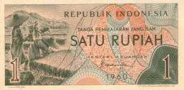 INDONESIA P.  76 1 R 1960 UNC - Indonésie