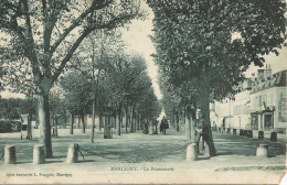 MARCIGNY La Promenade Serie Emeraude L Francois Marcigny - Other Municipalities