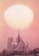 Ph-CPSM Paris (Paris) Un Crépuscule Insolite Sur Notre Dame - Notre Dame De Paris