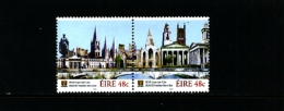 IRELAND/EIRE - 2005  CORK CAPITAL OF CULTURE PAIR  MINT NH - 1949-... Repubblica D'Irlanda