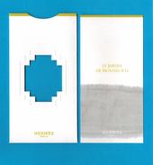 Cartes Parfumées  Carte  LE JARDIN DE MONSIEUR LI De HERMES - Modernes (à Partir De 1961)