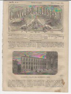 Rivista Del 1873  L'Arcivescovado Di SIENA + TEHERAN Tehran Persia Iran + RAGAZ  HOF-RAGAZ  MAIENFELD Svizzera - Libri, Riviste, Fumetti