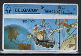 Belgacom 1492 - 1992 Serienummer 267H - Belgien