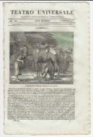 1835 Italian Magazine Synagogue Of London Hebraica   Hebrew  Israelite Jew  Jewish - Magazines & Newspapers