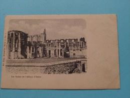 Les Ruines De L'Abbaye De D'Aulne ( Serie 10 N° 1 ) - Anno 1900 ( Zie Foto Voor Details ) ! - Thuin