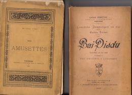 Littérature Wallonne Caveau Verviétois Concours 1892 Thiriart On Bai Disdu Comédie - Books, Magazines, Comics