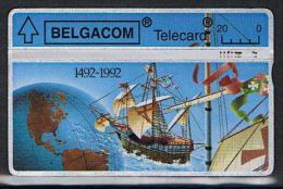 Belgacom 1492 - 1992 Serienummer 267E - Belgien