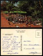 PORTUGAL COR 43713  - GUINÉ - BISSAU - NOVA LAMEGO - LAVADEIRAS NA FONTE - Guinea-Bissau