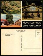 PORTUGAL COR 43714  - GUINÉ - BISSAU - NOVA LAMEGO - VISTA AEREA VISTA RUA PRINCIPAL - Guinea-Bissau