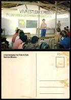 PORTUGAL COR 43715  - GUINÉ - BISSAU - VIVA ESTUDAR E PRODUZIR - Guinea-Bissau