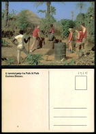 PORTUGAL COR 43719  - GUINÉ - BISSAU - VIVA ESTUDAR E PRODUZIR - Guinea-Bissau
