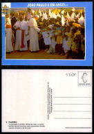 PORTUGAL COR 43738  - ANGOLA - HUAMBO -  SS PAPA JOANES PAULUS II - POPE - - Angola