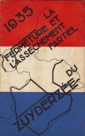 Pays Bas Hollande L'asséchement Du Zuyderzee Polders  1935 - Books, Magazines, Comics