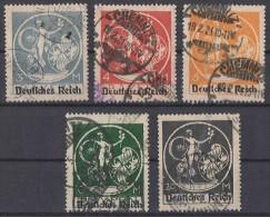 DR Minr.134-138 Gestempelt - Briefmarken