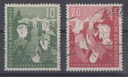 Bund Minr.153-154 Gestempelt - Gebraucht
