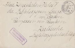 DR Brief Grossherzogliche-Angelegenheit KOS Obertsroth (Murgtal) 30.3.16 Anschrift Beachten !!! - Deutschland