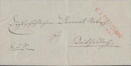 Baden Brief Roter Rayonstempel R1 Freyburg 19.6.1935 Inhalt !!!!!!!! - Baden