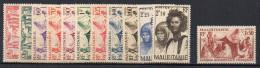 2/ Mauritanie : N° 107 à 115 Dont Le Rare 112 A  Neuf  XX  , Cote : 220,00 € , Disperse Trés Grosse Collection ! - Unused Stamps