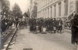 CPA 1674 - MILITARIA - Carte Photo Militaire -  Cérémonie Militaire à NANCY ? - Photo FARGES à LYON - Personnages