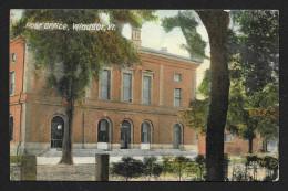 Post Office Building Windsor VT Used C1913 STK#93505 - Postal Services