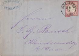 DR Brief EF Minr.4 Altenburg 17.8.72 - Deutschland