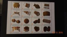 Turkmenistan 2014 Mi. Nr. 330-345 Bl.46  Jewelery - Turkmenistan
