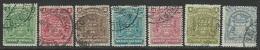 Rhodesia  1898-1908   Sc#59-64, 67   7 Diff Used To The 2sh6d    2016 Scott Value $11.35 - Rhodésie Du Sud (...-1964)