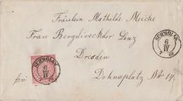 NDP Brief EF Minr.16 Nachv. Stempel Schmölln 6.4.69 - Norddeutscher Postbezirk