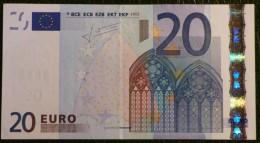 20 EURO TRICHET 2002 SLOVENIE/SLOVENIA H G010 B2 SUP/XF - EURO