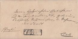 Beamtenbrief Von 1771 R2 R.P.MAGDEB: K:U:D:C: Gel. Nach Halle Ansehen !!!!!!!!!!! - Deutschland
