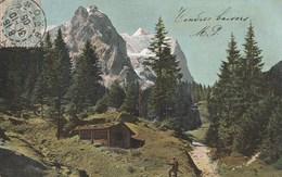 Dos Simple 1900 - Postkarte - Am Weg Nach Rosenlani. Voyagée 1905. Couleur, Animée. Ser. 332 4 - BE Berne